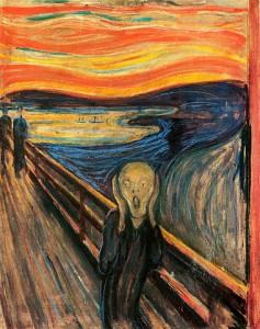Der Schrei der Natur. Edvard Munch, (1863–1944). © public domain