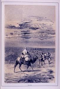 Gemälde einer Fata Morgana in der Wüste. Auch Korrelationen können zu Trugbildern führen. © public domain.