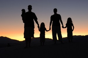 Familie. © Eric Ward. CC BY-SA 2.0.