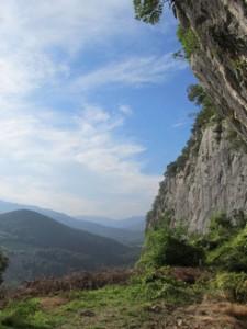 Eingang zu El Mirón-Höhle im bergigen Ostkantabrien in Spanien. © MPI f. evolutionäre Anthropologie/ R. Power