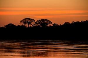 Sonnenuntergang im Kapawie Ecolodge Resert © Kapawie. CC BY-SA 3.0