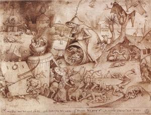 Pieter Bruegel der Ältere. Zorn. © gemeinfrei.