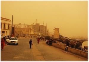 Sandsturm im Senegal. © T.K. Naliaka. CC BY-SA 4.0.