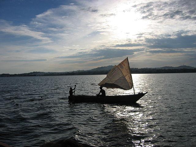 Fischer auf dem Viktoriasee. © public domain.